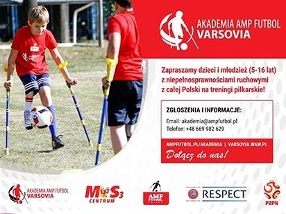 Amp Futbol Polska zaprasza na treningi.